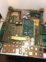 21 lbs Gold Scrap CPU Processors, Ram, Finger Boards for Gold Recovery Art - $494.01