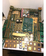 21 lbs Gold Scrap CPU Processors, Ram, Finger Boards for Gold Recovery Art - $777.77