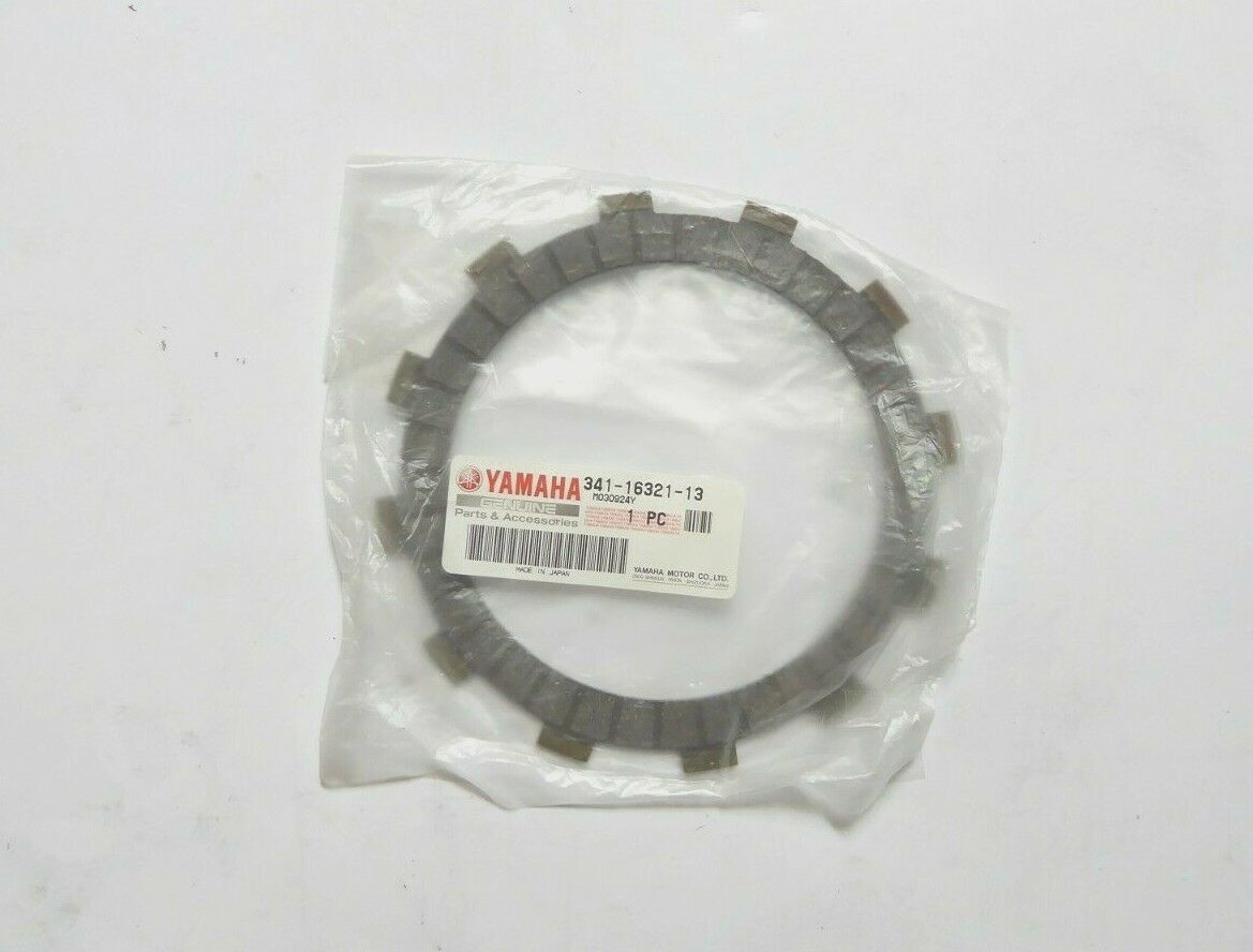 Yamaha 341-16321-13 Friction Plate Pack of 2 New