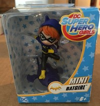 DC Super Hero Girls Batgirl Mini Vinyl Figure Brand New in Box BATMAN DC Comics - $7.27
