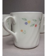(4) Corning, Corelle English Meadow Coffee Tea Mugs Cups, Excellent Cond... - $11.35