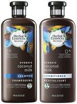 Herbal Essences Bio Renew Haircare - Hydrate - Coconut Milk - Shampoo & Conditio - $29.45