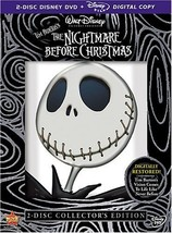 The Nightmare Before Christmas Two-Disc Collector's Edition by WALT DISN... - $61.22