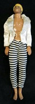 Mattel 1968 Barbie Ken Doll - Wearing White/Black Pants - Made in Hong Kong - $6.67