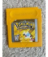 Pokémon Yellow Version: Special Pikachu Edition (Game Boy, 1999) - $102.90