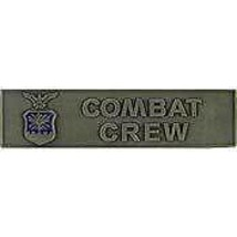 AIR FORCE COMBAT CREW MILITARY 3 INCH  BADGE  PIN - $15.33