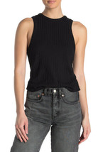 Free People Da Donna Check It Out OB1103291 Tank Top Nera XS - $40.16