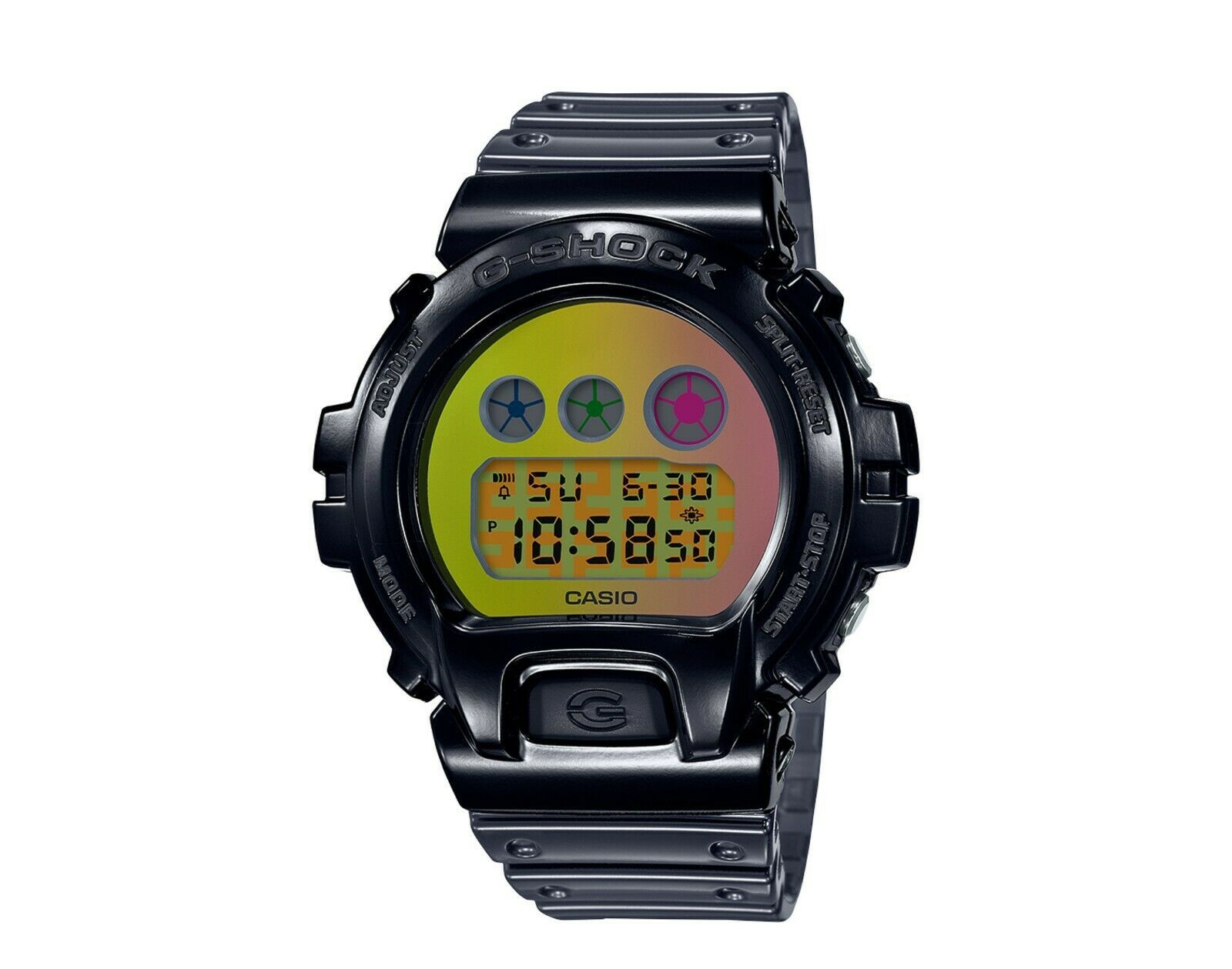 Primary image for Casio G-Shock DW6900SP-1C 25th Anniversary Digital Skeleton Resin Watch
