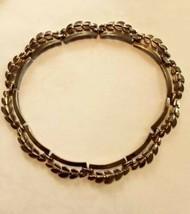 Vintage Monet Gold Tone Link Necklace - $28.05