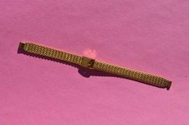 Vintage JB Champion 1/20 10K GF Yellow Gold Filled Mesh Watchband Watch ... - $13.97