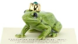 Birthstone Frog Prince May Simulated Emerald Miniatures by Hagen-Renaker image 7