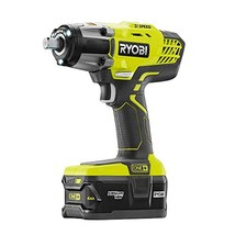 Ryobi P1833 3-Speed 1/2-Inch Impact Wrench Kit