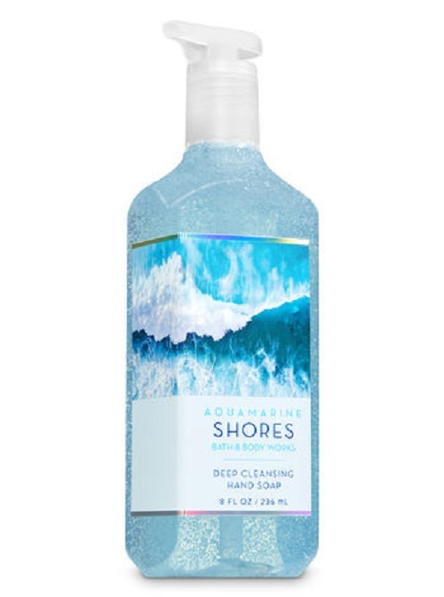 Bath & Body Works Aquamarine Shores Deep Cleansing Hand Soap 4 Pack