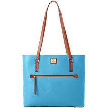 Dooney & Bourke Pebble Large Shopper Sky Blue Purse Handbag