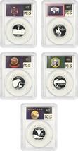 2007-S Statehood Quarter Set 25c PCGS PR 69 DCAM (Silver, 5 Coins) - $82.45