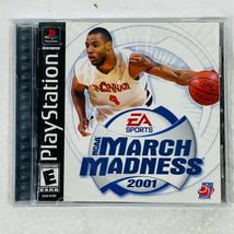 NCAA March Madness 2001 Sony PlayStation 1 PS1 EA Sports - $10.84