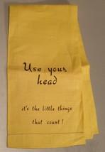 Comic Vintage Linen Bar or Guest Hand Towel - $8.00