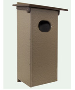 WOOD DUCK BOX Amish Handmade Weatherproof Recycled Poly House for Ducks ... - $107.77+