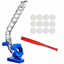 Baseball Pitching Machine for Youth, Height Adjustable Electronic Slow P... - $110.99