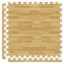 Alessco SoftWoods Rubber Floor - Walnut - 8' x 8' Set - $188.80