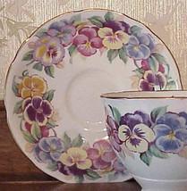 Viola Royal Stafford english bone china Saucer - $6.90