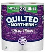 Quilted Northern Ultra Plush Toilet Paper, 6 Mega Rolls, 6 = 24 Regular ... - $20.78