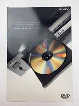Sony CD / DVD Player Consumer Guide DVP-S7000 - $15.83