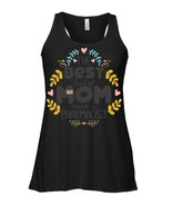 Floral Best Kind Mom PHARMACIST Mothers Day Flowy Racerback Tank - $26.95+