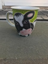 Dunoon Three Cows Jane Brookshaw Large Mug Used - $14.84