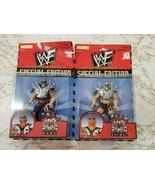 Rare WWF Special Edition Series 3 LOD 2000 Animal & Hawk Road Warriors - $54.69