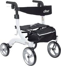 Drive Medical RTL10266WT-H Nitro Euro Style Walker Rollator, Petite, White - $692.95
