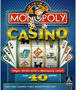 Monopoly Casino - Over 40 Games - $12.86