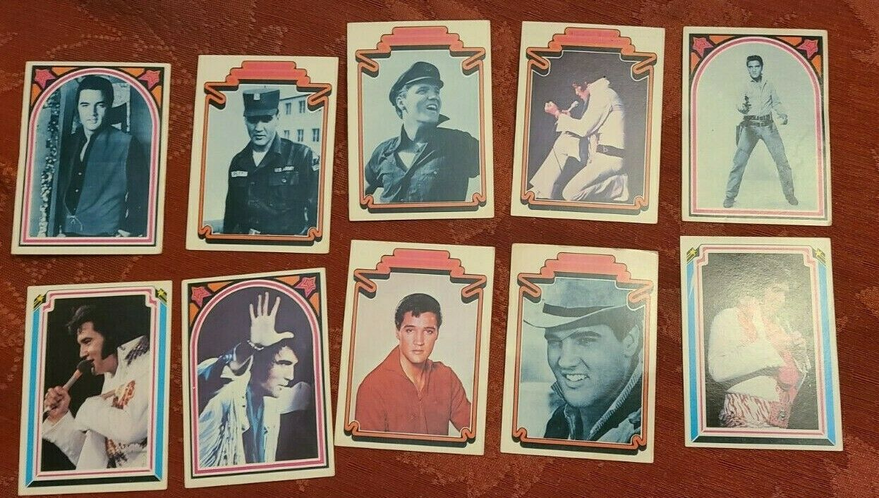 ELVIS TRADING CARDS FACTS NO.  30  31  32  40  41  46  49  55  56  57