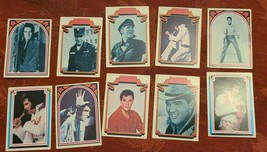 ELVIS TRADING CARDS FACTS NO.  30  31  32  40  41  46  49  55  56  57 image 1