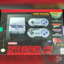 Super Nintendo Entertainment System: SNES Mini Classic Edition SHIPS TODAY - $186.99