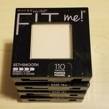 Maybelline Fit Me Set + Smooth Pressed Powder Compact #110 Porcelain - $7.66