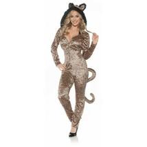 Ste Léopard Combinaison Félin Catsuit Animal Sexy Halloween Déguisement ... - $35.71