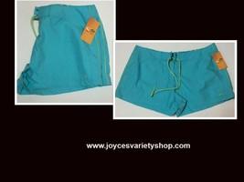 Champion Activewear Shorts Colorwave Aqua Sz XL Velcro Drawstring image 1