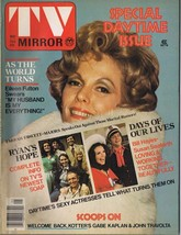 ORIGINAL Vintage May 1976 TV Mirror Magazine Eileen Fulton Farah Fawcett - $18.51