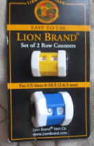 Lion Brand Set of 2 Row Counter - $5.00