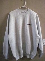 Hanes Grey Sweatshirt & Port Authority White Navy Color Polo Shirt Both NEW - $59.40