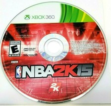 NBA 2K15 Microsoft Xbox 360 Video Game Disc Only - $12.59