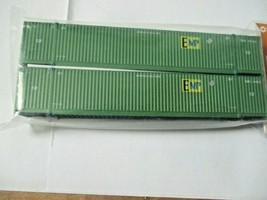 Jacksonville Terminal Company # 537003 EMP (GREEN) 53' Container  N-Scale image 1