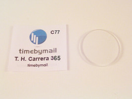 For Tag Heuer Carrera 36.5mm Watch Glass Crystal Replacement New Spare Part C77 - $23.52