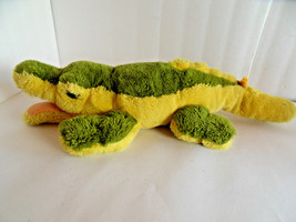 Steiff crocodile alligator with button flag  made in Germany 1821 - $66.49