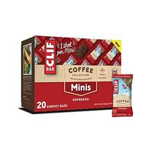 Clif Bar Minis with 1 Shot of - Energy Bars, Espresso, 20 Count - $10.18