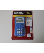 TEXAS INSTRUMENTS CALCULATOR. NEW. IN SEALED PACKAGE - $24.74