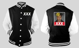 Xx Xtrentaction Xxx Obay Style Varsity Baseball BLACK/WHITE Fleece Jacket - $41.57