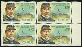 Chile Stamp Assault and Take of the Morro of Arica Pedro Lagos Block of ... - $16.06