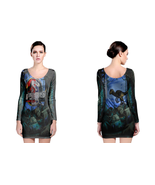 Jurassic Park 25th Anniversary LONG SLEEVE BODYCON DRESS - $25.99+